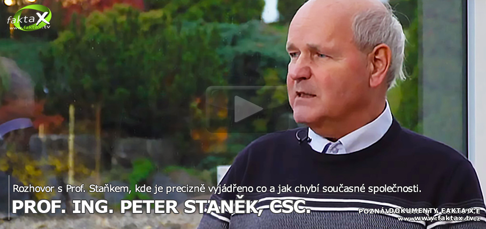 Rozhovor s Prof. Staňkem