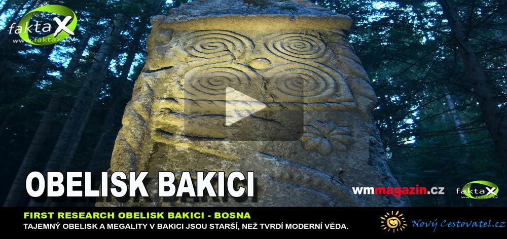Obelisk v Bakiči