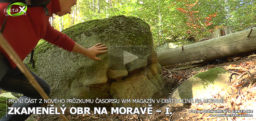 Zkamenělý obr na Moravě – I.