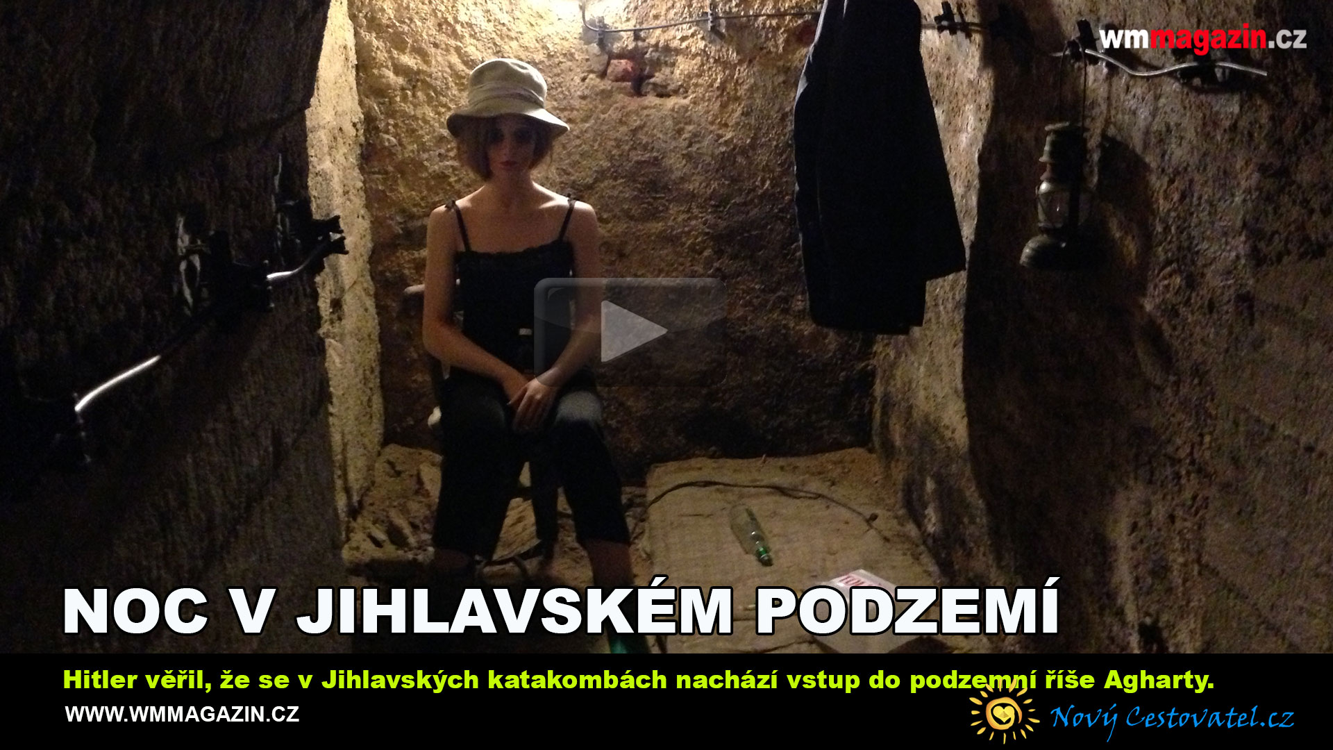 Noc v Jihlavském podzemí